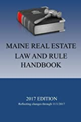 Maine Real Estate Law and Rule Handbook Paperback