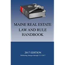 Maine Real Estate Law and Rule Handbook