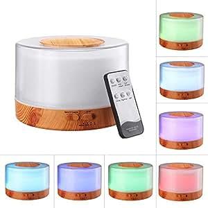 Amazon.com: 700ml Essential Oil Diffuser Ultrasonic