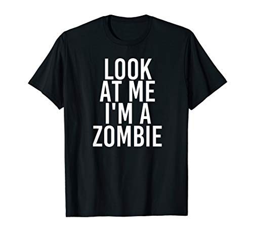 Zombie Costume Group Easy Outfit Shirt for -