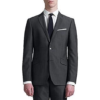 ab617631677 John Lewis KIN Stamford Tonic Slim FIT Suit Jacket 40 Long Grey Slate   Amazon.co.uk  Clothing