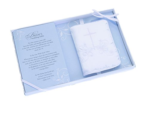 [Lillian Rose English Language Wedding Bible with Embroidered Cover, 4.5-Inch by 2.75-Inch] (Wedding Bible)