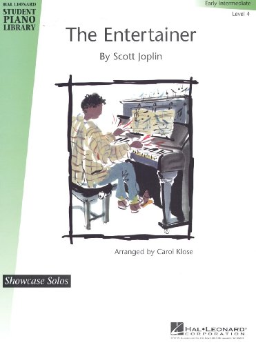 Hal Leonard The Entertainer Early Intermediate Level 4 Showcase Solos Hal Leonard Student Piano Library by Carol Klose