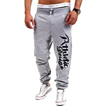 Men's Gym Sport Pants Bodybuilding Workout Running Jogger