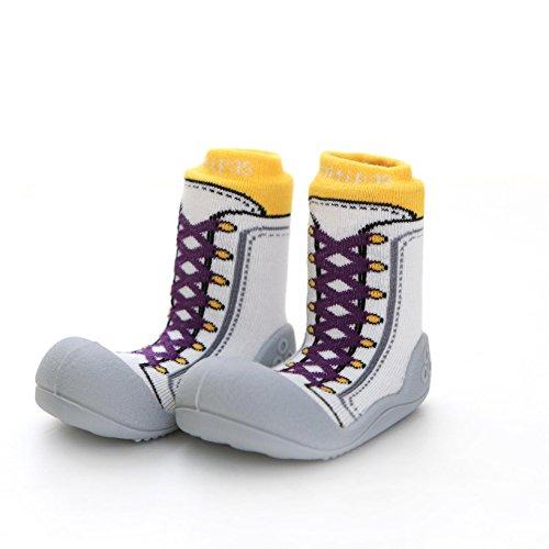 Attipas , {Chaussures premiers pas pour bébé (garçon) Jaune jaune 25.5