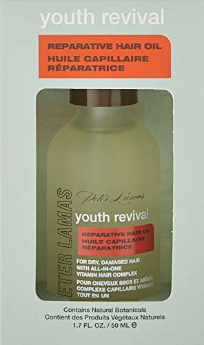 Amazon.com : Peter Lamas Youth Revival Reparative Hair Oil, 12.12 ...