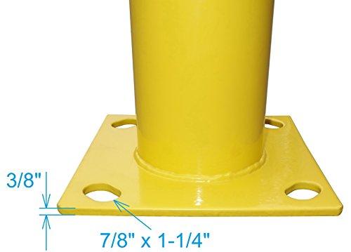 YM M2380 Steel Pipe Safety Bollard, 4-1/2'' OD, 36'' Height by YM (Image #5)