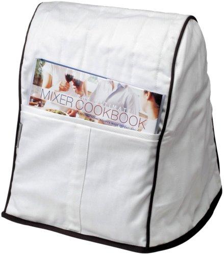 KitchenAid KMCC1WH Stand Mixer Cloth Cover - White by KitchenAid (Image #1)'