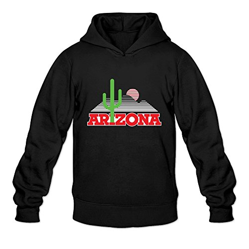 Tavil Arizona Wildcats 100% Cotton Hoodies For Mens Black Size Large