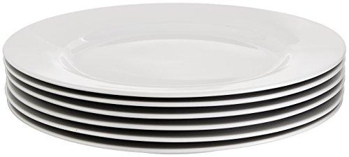 AmazonBasics 6-Piece Dinner Plate Set by AmazonBasics (Image #3)