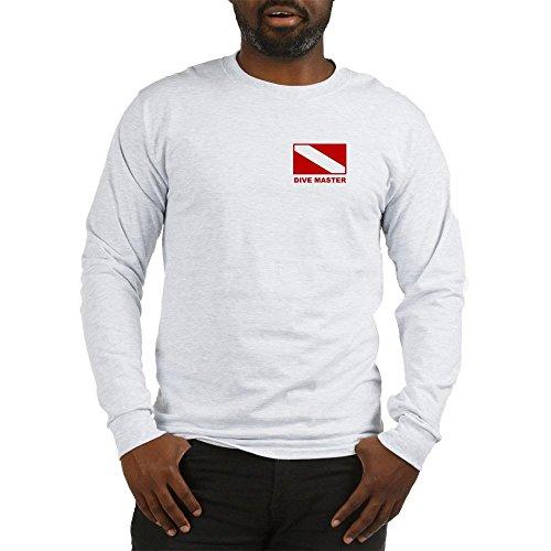 CafePress - Dive Master Long Sleeve - Unisex Cotton Long Sleeve T-Shirt Ash ()