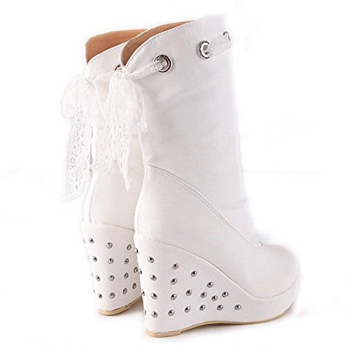 Coolcept Femmes Wedges Bottes A Enfiler white lsIo5S