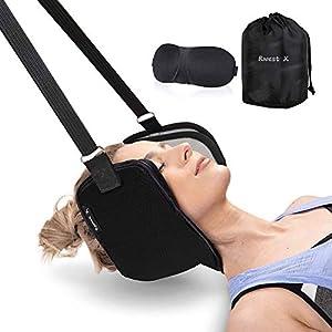 Hamac Cervical Stressless Hamac de Relaxation Cervicale pour Soulager le Douleur Hamac Cou Traction
