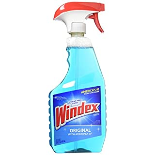 Windex Original Glass Cleaner, 23.0 Fluid Ounce Pack of 3