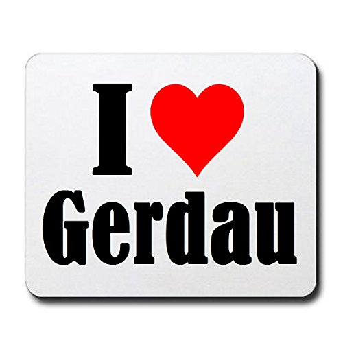 exklusiv-mousepad-i-love-gerdau-in-white-a-great-gift-idea-for-your-partner-colleagues-and-many-more