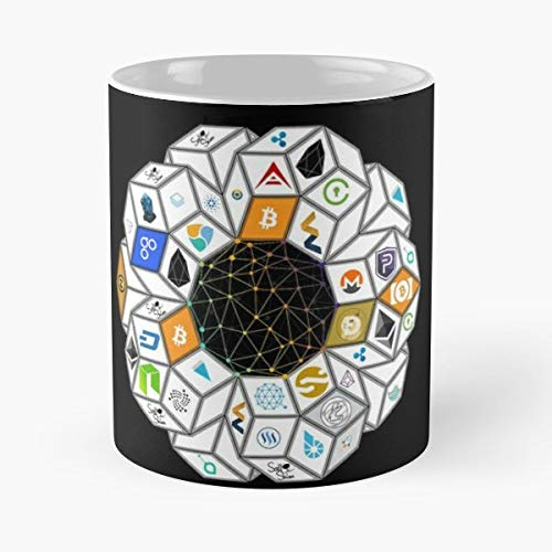 Money Coins Cryptocurrency Bitcoin - Best Gift Coffee Mugs 11 Oz Father Day (The Coin Shop & The Currency Exchange)