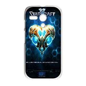 Motorola Moto G Phone Case Printed With Starcraft 2 Protoss Images