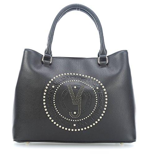à Sac Jeans main Versace noir FqvXEqc