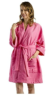 byLora Thigh Length Kimono Robe for Women