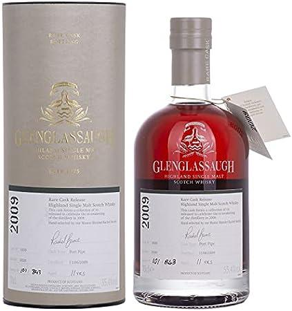 Glenglassaugh 11 Years Old Rare Cask Release 2009 Port Pipe Batch 4 55.4% Vol. 0.7L In Giftbox - 700 ml