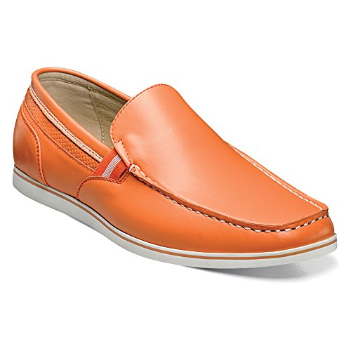 Stacy Adams Mens Coy Slip-on Mocassin Orange
