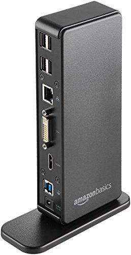AmazonBasics USB 3.0 Universal Laptop Docking Station by AmazonBasics (Image #3)