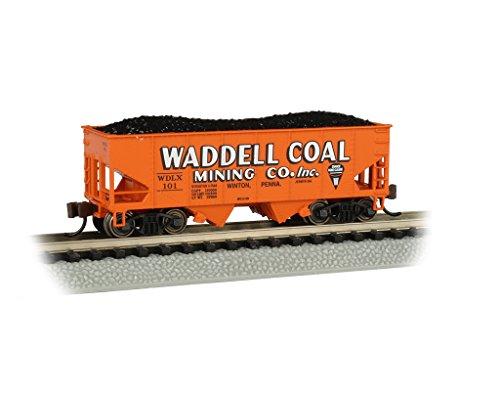 USRA 55-Ton 2-Bay Hopper Car - Waddell Coal #101 - N Scale
