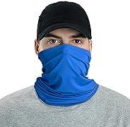 LUNGEAR Bandanas Neck Gaiter Headbands Multifunctional Headwear Balaclava Elastic Tube Face Scarf Outdoors for