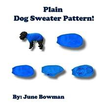 Plain Knit Dog Sweater Pattern