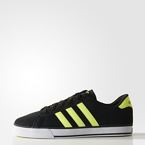 Adidas DAILY CBLACK/SYELLO/FTWWHT F98338 core black/solar yellow/ftwr white