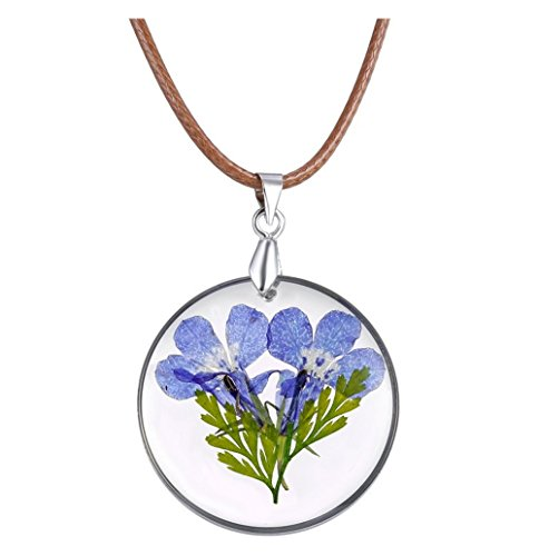 winters-secret-diy-embossing-dried-blue-flower-resin-pendant-creative-choker-necklace-with-rope-chai