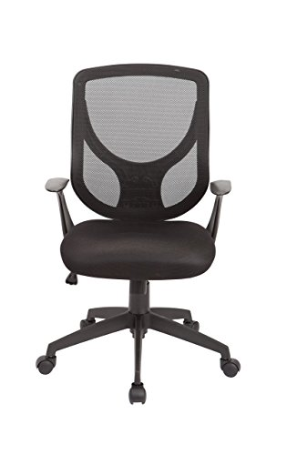 Christies Home Living Mesh Adjustable Office Chair, Black by Christies Home Living