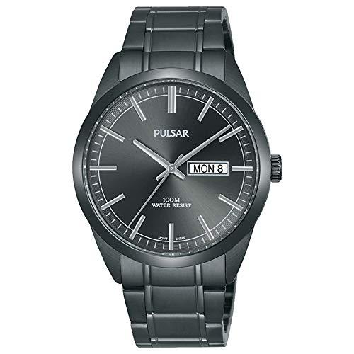 Pulsar Gents Grey Stainless Steel PJ6075X1