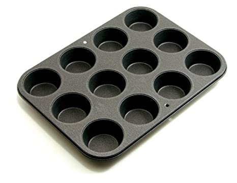 ProBake Teflon Non-Stick 12-Cup Muffin Pan - American-Made, Teflon Xtra  Scratch Resistant Muffin and Cupcake Pan, Easy to Clean