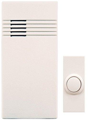 Ace Wireless Door Chime - Heathco SL-7750-02 Off-White Wireless Doorbell Kit