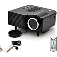 Lary intel HD 1080P LED Multimedia Mini Projector Home Theater Cinema VGA HDMI USB SD