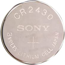 Sony - CR2430 Lithium Battery for Watches, Flashlights, CMOS, Small Tools, Etc.