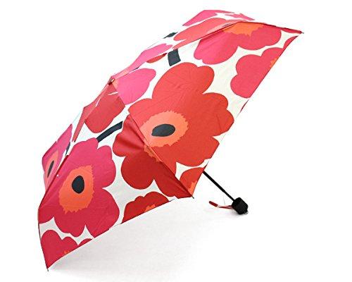 マリメッコ(marimekko) ピエニウニッコ PIENI UNIKKO 38654-001 折り畳み傘 レッド [並行輸入品] B01IPD843S