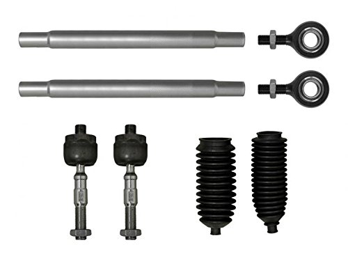 SuperATV Heavy Duty Tie Rod Kit for Can-Am Commander 800//1000 2011+ Complete Assembly with Ends
