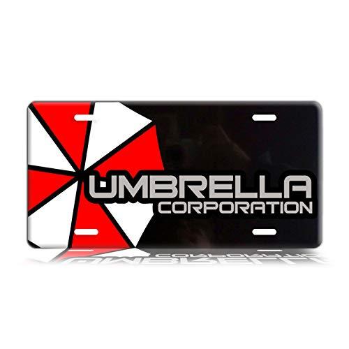 Dang Xin Umbrella Corporation Metal License Plate 12×6 - Umbrella Plate License