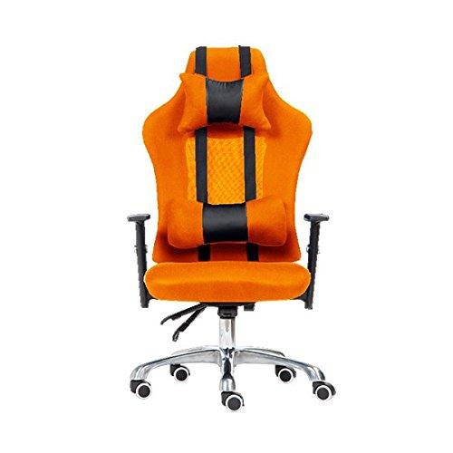 エアーモデナ (オレンジ) リクライニング オフィスチェアー メッシュ PCチェアー オフィス用品 パソコンチェアー オフィスチェア パソコンチェア デスクチェアー デスクチェア B01FTU6U36 オレンジ オレンジ