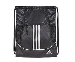 Adidas Alliance Ii Sackpack, 18 X 13 34-inch, Black