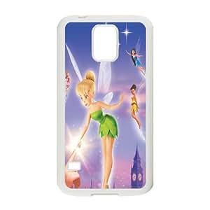 Disney Tinker Bell Clear Hard Case Cover For Samsung Galaxy S5 OKGL-U319348