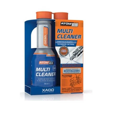 XADO AtomEX Multi Cleaner HIGH PERFORMANCE FUEL SYSTEM CLEANER FOR DIESEL ENGINE