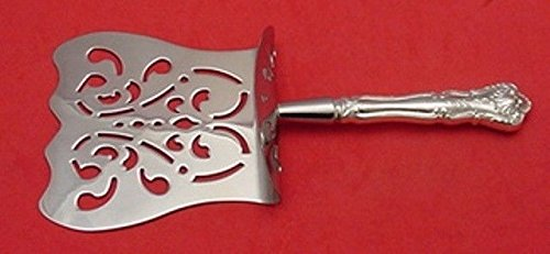 New Asparagus Server - NEW QUEENS BY DURGIN STERLING SILVER ASPARAGUS SERVER HOODED CUSTOM HHWS 9 1/2