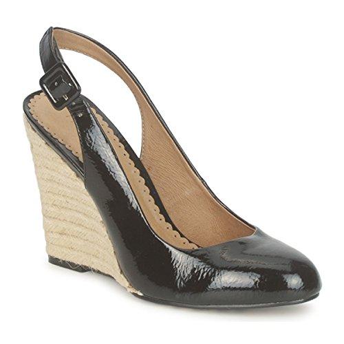 Moda In Pelle womens Play Black Heels Black