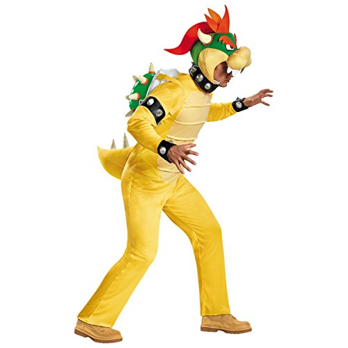 Deluxe Bowser Costume - XX-Large - Chest Size (Bowser Fancy Dress)