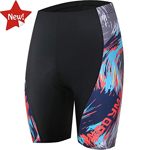 NOOYME  Womens Bike Shorts for Cycling with 3D Padded Breath