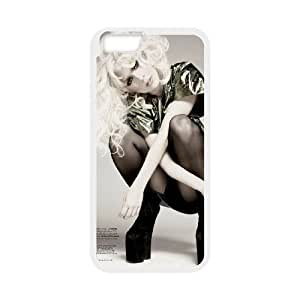 "WJHSSB Cover Shell Phone Case Lady Gaga For iPhone 6 Plus (5.5"")"