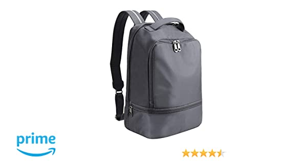 e23a0cbbe0c1 Amazon.com  ZORFIN Waterproof Nylon Backpack for Women Men Rucksack Purse  School Bags for Girls  Clothing